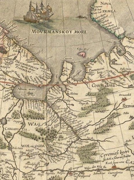На этой древней карте видно,