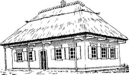традиционные типы домов на руси