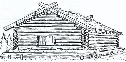 Так выглядел дом новгородских