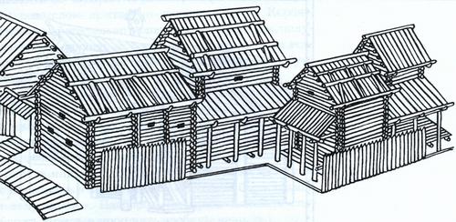 Как построить деревянный дом из бревен