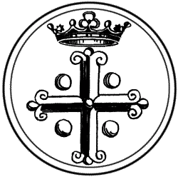 Равносторонний крест в королевской символике в Западной европе.