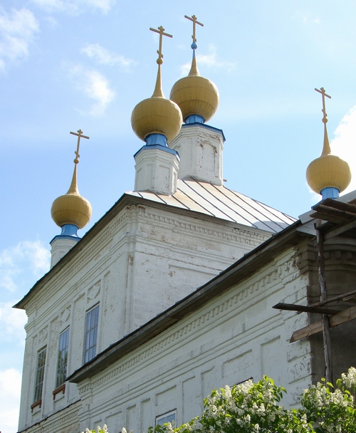 Церковь в селе Семеновское Ярославской области