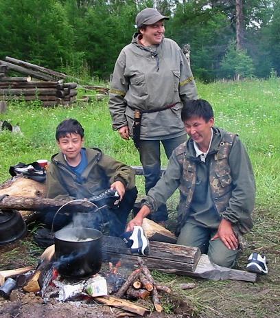 Печка для рыбалки