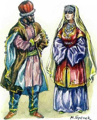 моды для золотой орды