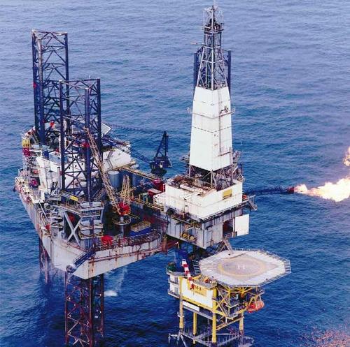 Нефтяная платформа для добычи